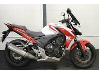 HONDA CB500F ABS ** Full Honda History - Puig Screen - Heated Grips **