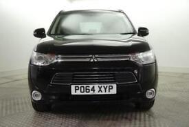 2014 Mitsubishi Outlander PHEV GX 4H PETROL/ELECTRIC black Semi Auto