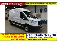 2014 - 64 - FORD TRANSIT T350 2.2TDCI 125PS LWB HIGH-TOP L3 H3 VAN (GUIDE PRICE)