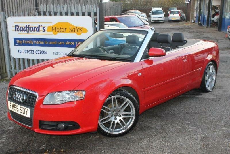 2006 Audi A4 Cabriolet 2.0 TDI S Line 2dr | in Mansfield ...