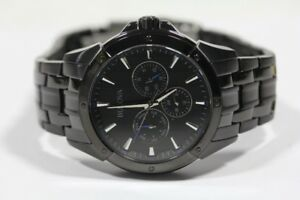 Bulova sport watch titanium and stainless black