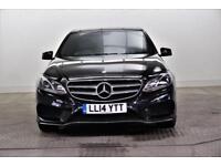 2014 Mercedes-Benz E Class E220 CDI AMG SPORT Diesel black Automatic