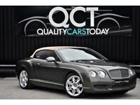 2010 Bentley Continental GTC 6.0 W12 Mulliner *Cypress Green + Cognac Hide*