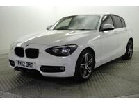 2012 BMW 1 Series 116I SPORT Petrol white Manual