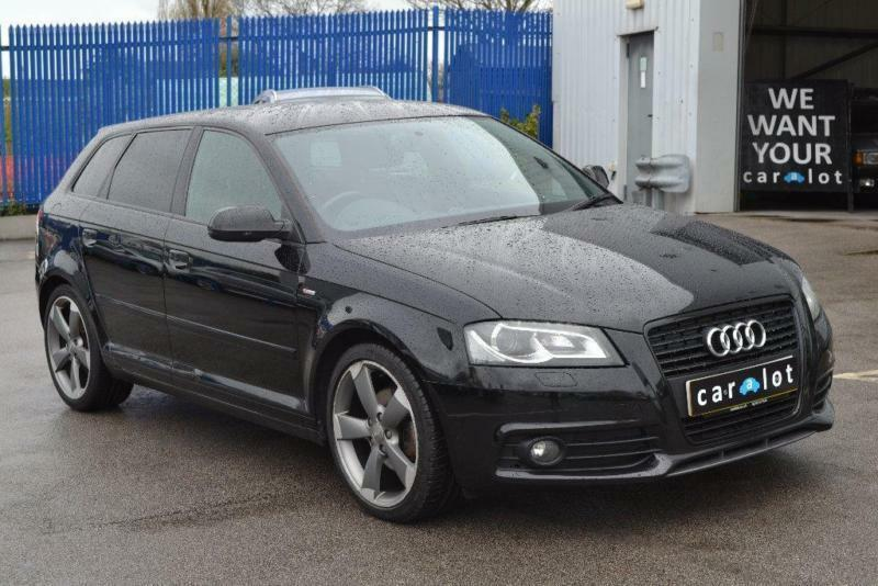 2012 audi a3 2 0 tdi black edition sportback 5dr in spondon derbyshire gumtree. Black Bedroom Furniture Sets. Home Design Ideas