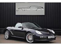 Porsche Boxster ( 987 ) 3.2 S Manual Black + Sports Seats + Sport Design Wheels