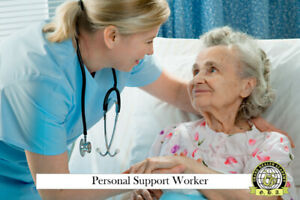 Become a Certified Personal Support Worker in 6 months