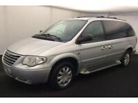 CHRYSLER GRAND VOYAGER 2.8CRD AUTO LIMITED XS 2005..FULL MOT..REAR ENTERTAINMENT