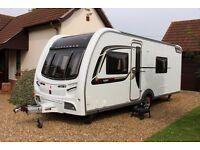 coachman vip 565/4 luxury caravan