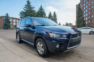 2012 Mitsubishi Outlander LS AWD SUV 7 Seater for sale (REDUCED)