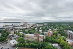 Executive furnished 2 bedroom apartment in downtown Halifax