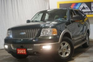 2003 Ford Expedition 5.4L Eddie Bauer 4WD,7Pass.,DVD,Leather,Sun