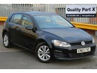 2013 Volkswagen Golf 1.6 TDI SE Hatchback DSG 5dr (start/stop)