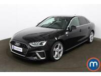 2020 Audi A4 35 TFSI S Line 4dr S Tronic [Comfort-PlusSound] Auto Saloon Petrol