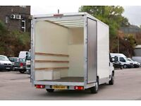 MAN AND VAN LARGE LUTON Van With TAILIFT AND 3 Man 24/7 call us for best price