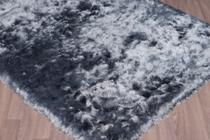 Hand-woven Silver Area Rug from **Wayfair** - Ultra-plush