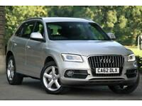 Audi Q5 2.0 TDI 177ps quattro S Line MMI NAV Tech Pk FASH Inc T.Belt PX Welcome