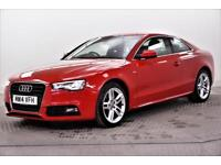 2014 Audi A5 TDI S LINE S/S Diesel red CVT