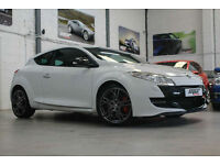 Renault Megane RS250 Lux, 10 Reg, 39k, White, Full Leather, Immaculate.