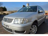 VOLKSWAGEN POLO MATCH 1.4 3 DOOR*LOW MILEAGE*1 OWNER SINCE 2005*SERVICE HISTORY*