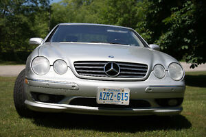 2002 Mercedes-Benz CL55 AMG Coupe