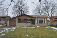3 Bedroom Bungalow with Garage and Inlaw Suite in North Welland