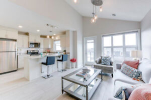 1 Bed, 1 Bath Townhome with Attached Garage in SW Edmonton!