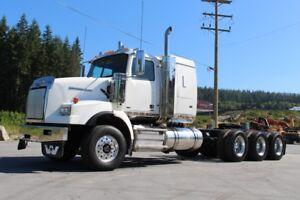"""2013 Western Star 4900SA Tri-Drive Truck c/w 44"""" Sleeper, DD15"""
