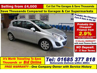 2012 - 62 - VAUXHALL CORSA 1.3CDTI ECOFLEX 5 DOOR HATCHBACK (GUIDE PRICE)