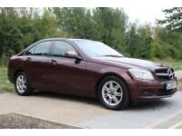 2008 Mercedes-Benz C Class 1.8 C180 SE 4dr AUTO, PETROL, SAT-NAV, REV CAM, FSH