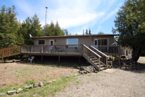 Tobermory Waterfront Home or Cottage with No Renovations Needed!
