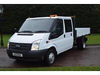 Ford Transit Double cab Tipper T350 2.2 tdci 6 speed