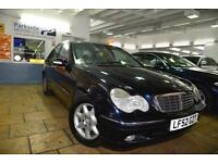 2002 Mercedes-Benz C Class 1.8 C180 Kompressor Elegance 5 Doors/ AUTO/ LEATHER
