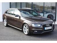 2014 Audi A4 Avant 2.0 TDI S Line Avant Multitronic 5dr