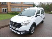SOLD NOW 2016 Dacia Dokker Stepway 1.5 Dci Left hand drive Lhd Spanish