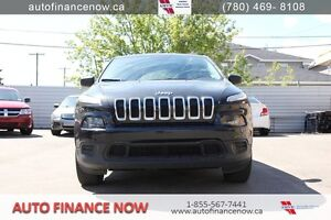 2014 Jeep Cherokee Sport 4WD OWN ME FOR ONLY $115.43 BIWEEKLY!
