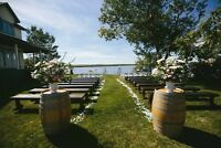 Rent Farmhouse Benches for Weddings and Parties