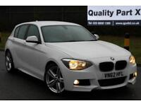 2012 BMW 1 Series 2.0 120d M Sport Sports Hatch 5dr