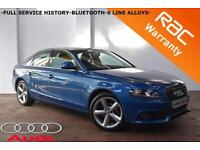 2008 Audi A4 2.0TDI 143BHP SE -FULL SERVICE HISTORY-BLUETOOTH-FINANCE-