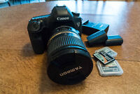 Canon 5D Mk III + Lens, Cards, Filter - Great Condition