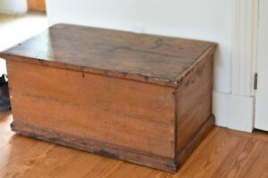 Old Wooden Trunk