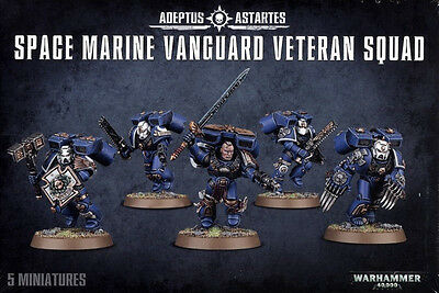 Space Marine Vanguard Veteran Squad Marines Warhammer 40k NEW