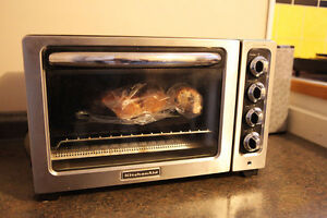 Convection Toaster Oven Stainless Steel, Kitchen Aid KC0223CU1
