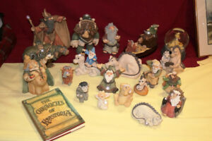 GS REDUCED The Chronicles of Krystonia figures and book