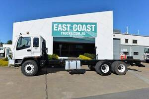 ISUZU FVZ 1400 ** CAB CHASSIS ** 6X4 ** #4962 Archerfield Brisbane South West Preview