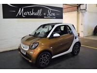 2015 15 SMART FORTWO 1.0 PRIME 2D 71 BHP