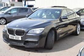 2012 BMW 7 Series 3.0 730d M Sport 4dr