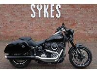 2018 Harley-Davidson FLSB Softail Sport Glide in Black