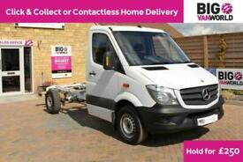 2015 MERCEDES SPRINTER 313 CDI 129 MWB SINGLE CAB CHASSIS CHASSIS CAB DIESEL