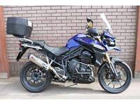 TRIUMPH TIGER EXPLORER 1200 TOURING ADVENTURE BIKE